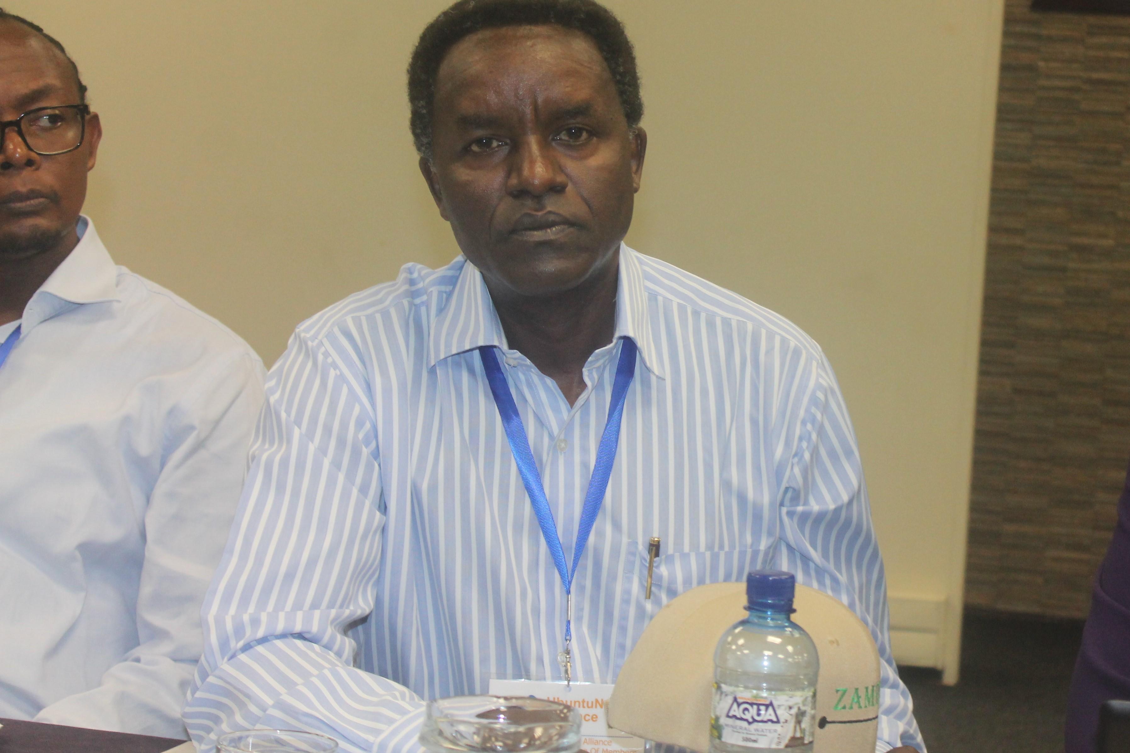Professor Timothy Waema