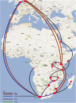 Peeping into the UbuntuNet network 3-year projection plan: From 10 to 17 POPs