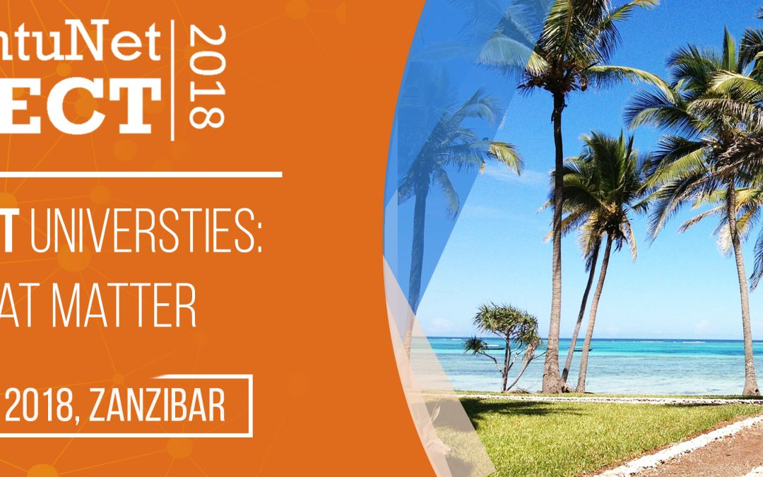 Attending UbuntuNet-Connect 2018 in Zanzibar? Then Register now!
