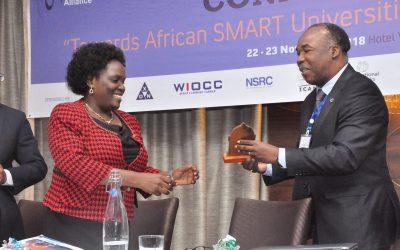 Tanzania Minister of Education, Science and Technology Prof. Joyce Ndalichako opens UbuntuNet-Connect 2018 in Zanzibar, Tanzania