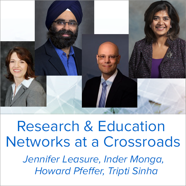 "CENIC 2019 conference to feature a panel discussion on ""Research & Education Networks at a Crossroads"""