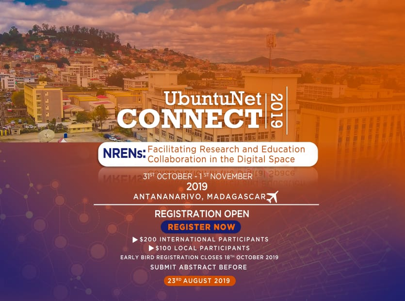 Register for UbuntuNet-Connect 2019