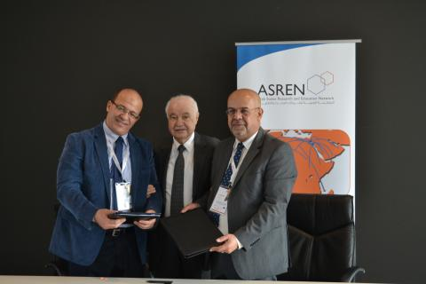 Egyptian Universities Network (EUN) Connects to ASREN and GÉANT under the AfricaConnect3 Project