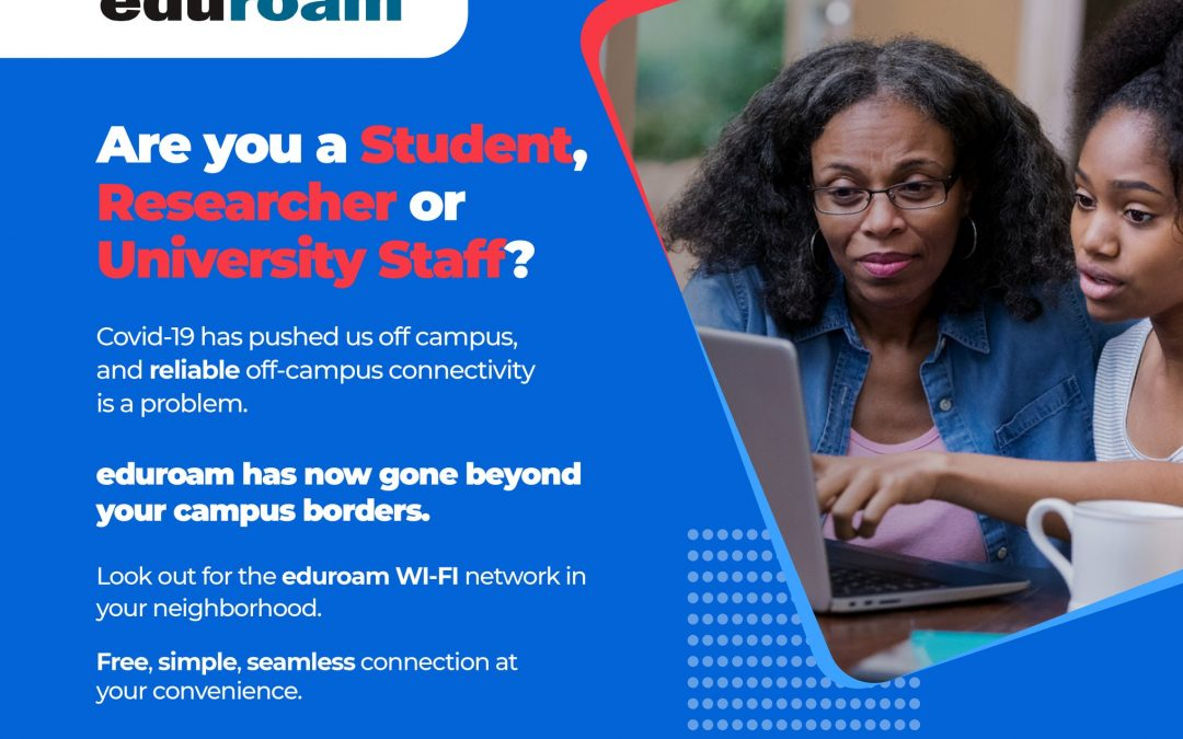 RENU Deploys 300 eduroam hotspots for  off-campus Internet access