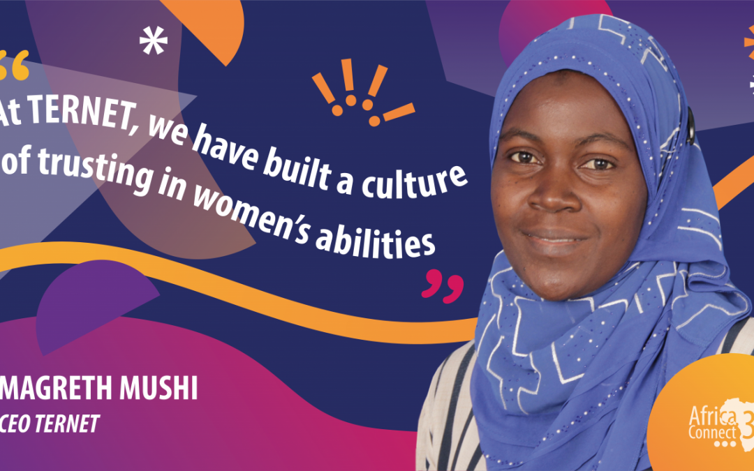 AC3 kicks off #womeninSTEM campaign: Interview with TERNET CEO, Dr. Magreth Mushi