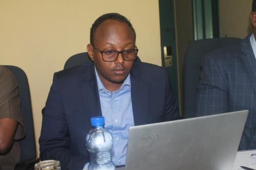 Mr Abdullahi Bihi Hussein