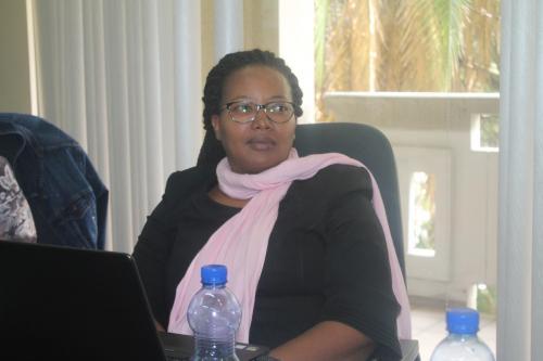 Ms Slyvie Mboyo
